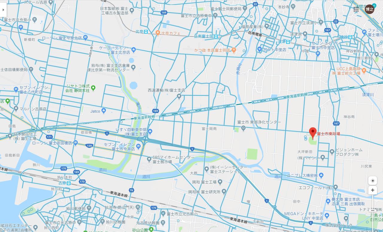 富士東球場